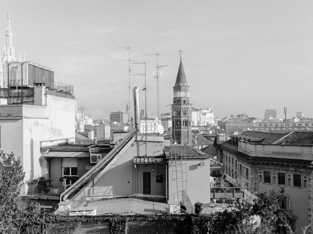 Il matrimonio di George e Antoniette a Milano, Milano 1