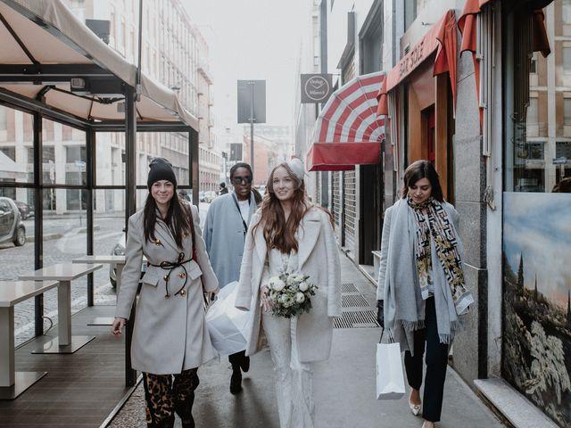 Il matrimonio di George e Antoniette a Milano, Milano 26