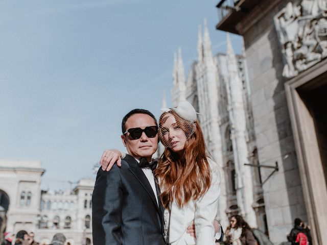 Il matrimonio di George e Antoniette a Milano, Milano 77