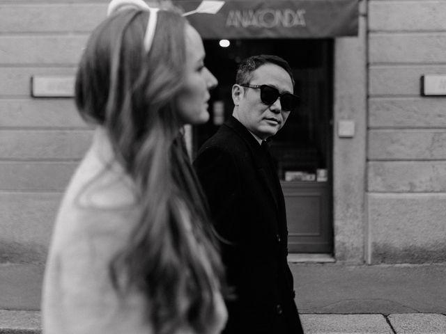 Il matrimonio di George e Antoniette a Milano, Milano 84