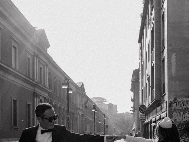 Il matrimonio di George e Antoniette a Milano, Milano 87