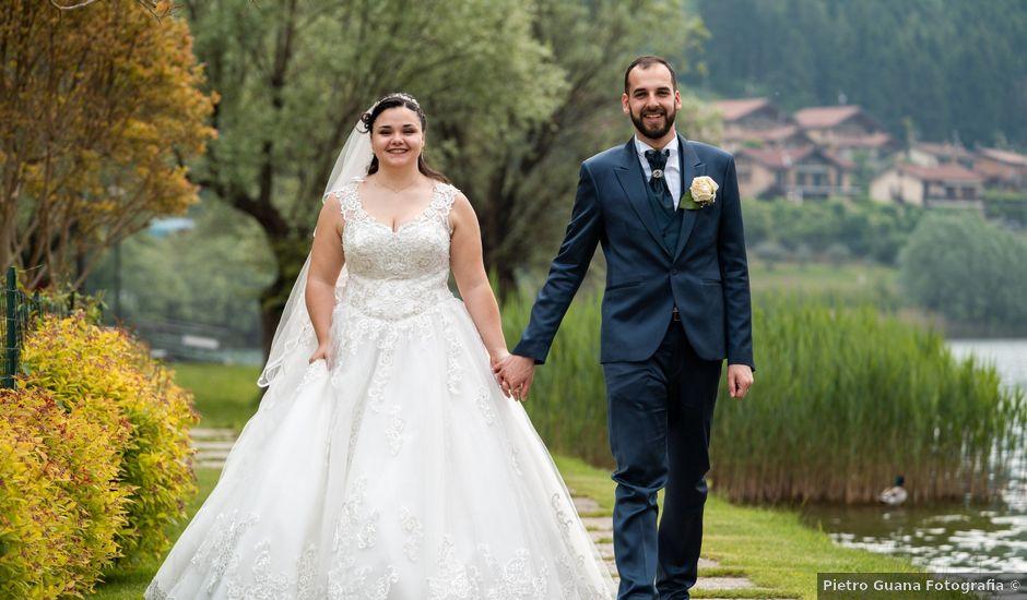 Il matrimonio di Omar e Marica a Endine Gaiano, Bergamo