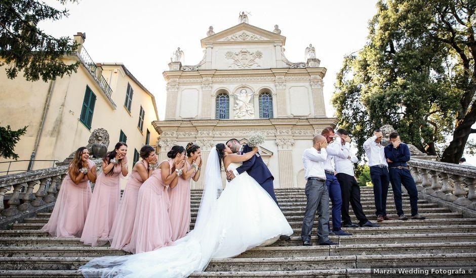 Il matrimonio di Salvatore e Dalila a Rapallo, Genova