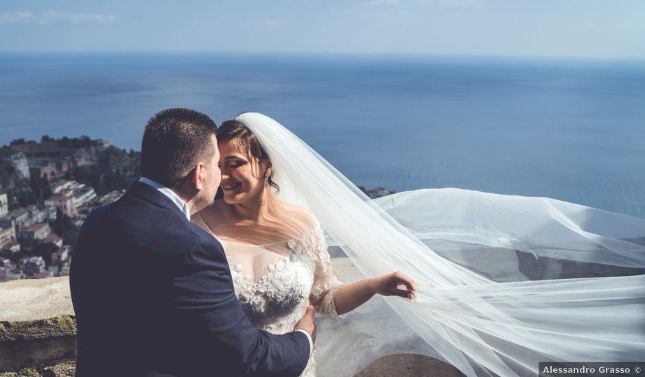 Il matrimonio di Antonio e Alessandra a Giardini-Naxos, Messina