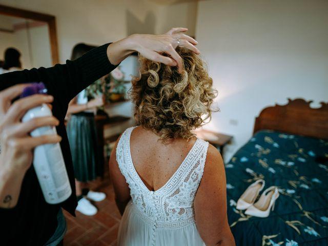 Il matrimonio di Andrea e Chiara a Castelnuovo Berardenga, Siena 24