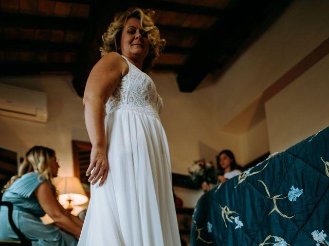 Il matrimonio di Andrea e Chiara a Castelnuovo Berardenga, Siena 25