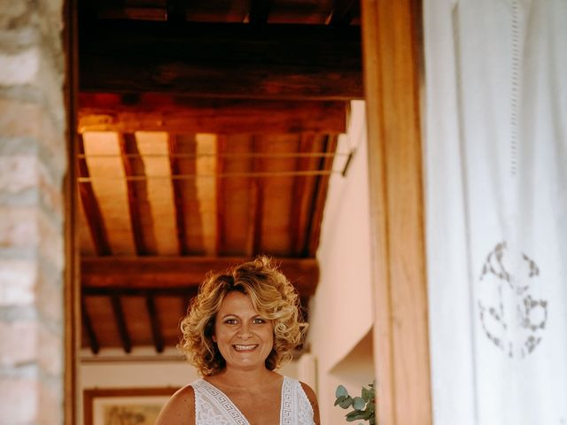 Il matrimonio di Andrea e Chiara a Castelnuovo Berardenga, Siena 29