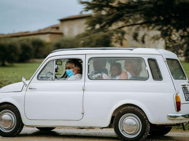 Il matrimonio di Andrea e Chiara a Castelnuovo Berardenga, Siena 36
