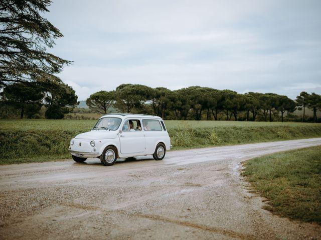 Il matrimonio di Andrea e Chiara a Castelnuovo Berardenga, Siena 37