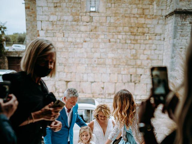 Il matrimonio di Andrea e Chiara a Castelnuovo Berardenga, Siena 42