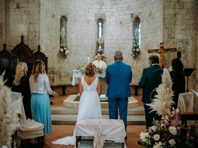 Il matrimonio di Andrea e Chiara a Castelnuovo Berardenga, Siena 44