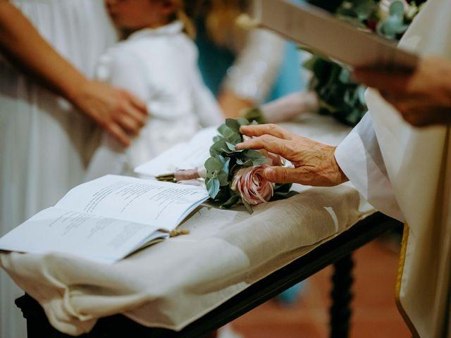 Il matrimonio di Andrea e Chiara a Castelnuovo Berardenga, Siena 46