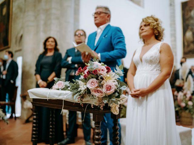 Il matrimonio di Andrea e Chiara a Castelnuovo Berardenga, Siena 50