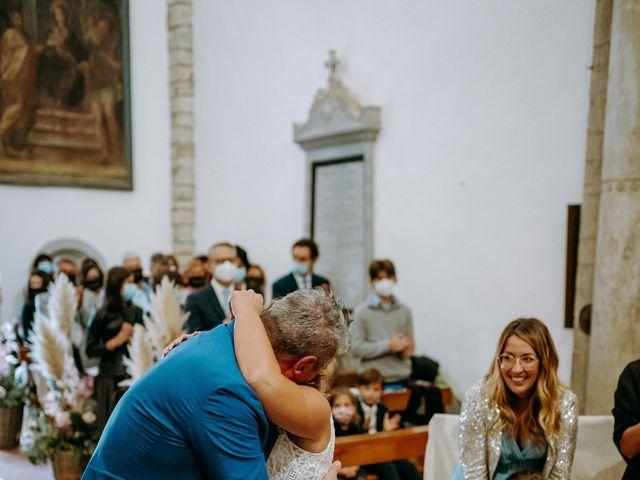 Il matrimonio di Andrea e Chiara a Castelnuovo Berardenga, Siena 51