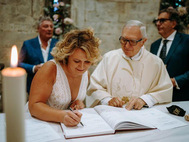 Il matrimonio di Andrea e Chiara a Castelnuovo Berardenga, Siena 52