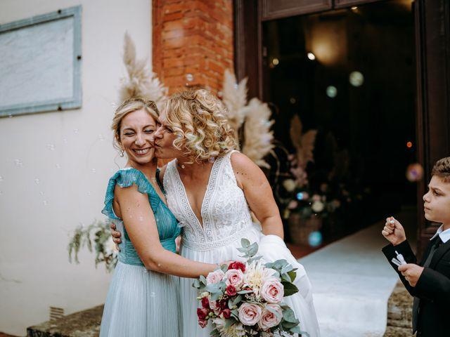 Il matrimonio di Andrea e Chiara a Castelnuovo Berardenga, Siena 54