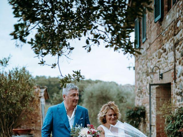 Il matrimonio di Andrea e Chiara a Castelnuovo Berardenga, Siena 56