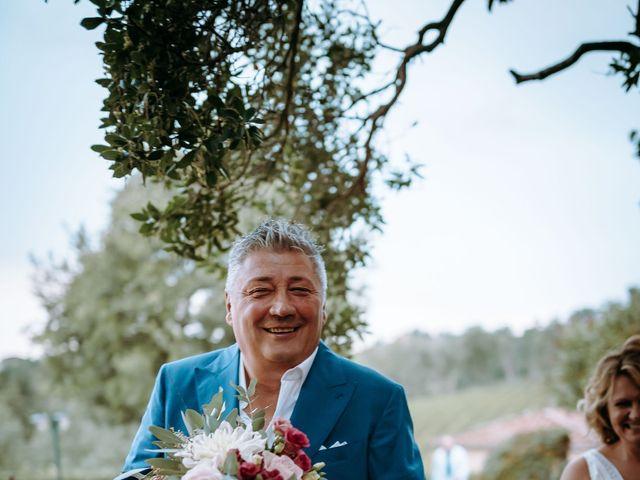 Il matrimonio di Andrea e Chiara a Castelnuovo Berardenga, Siena 57