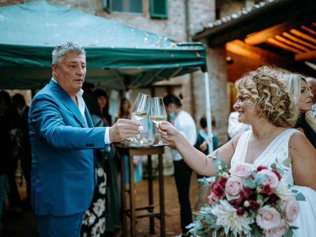 Il matrimonio di Andrea e Chiara a Castelnuovo Berardenga, Siena 59