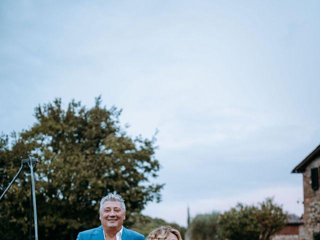 Il matrimonio di Andrea e Chiara a Castelnuovo Berardenga, Siena 61