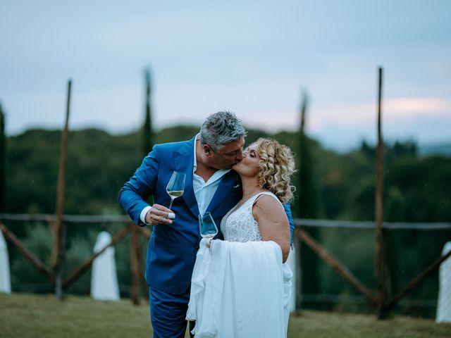 Il matrimonio di Andrea e Chiara a Castelnuovo Berardenga, Siena 64