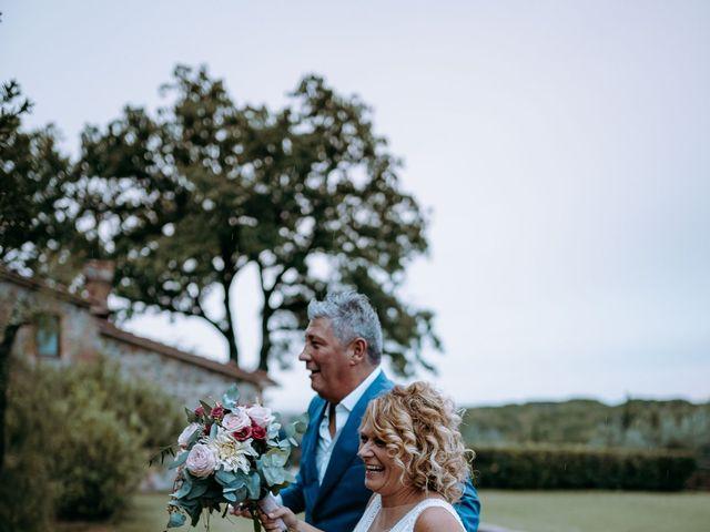 Il matrimonio di Andrea e Chiara a Castelnuovo Berardenga, Siena 65