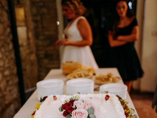 Il matrimonio di Andrea e Chiara a Castelnuovo Berardenga, Siena 73