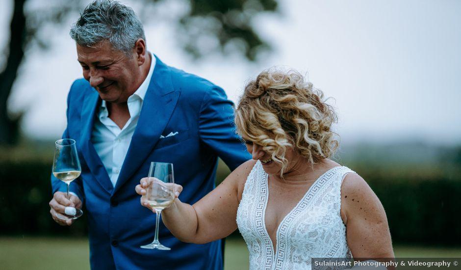 Il matrimonio di Andrea e Chiara a Castelnuovo Berardenga, Siena