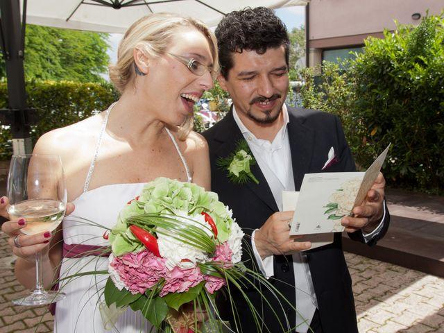 le nozze di Marica e Alessandro