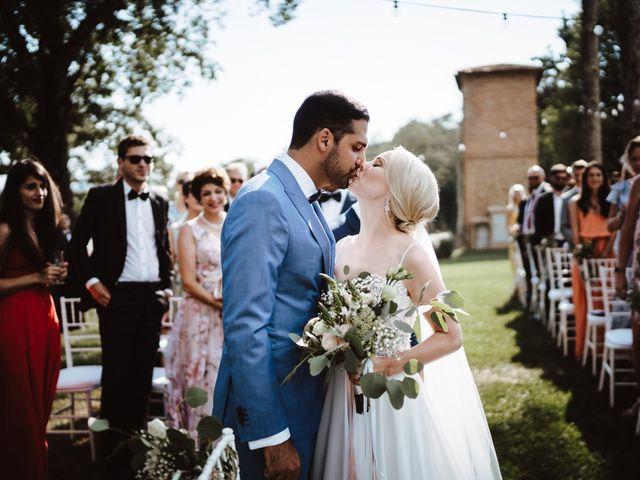Il matrimonio di Damun e Carmen a Chiusdino, Siena 8