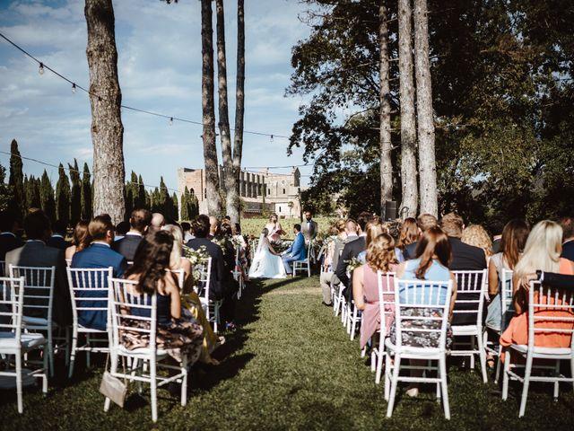 Il matrimonio di Damun e Carmen a Chiusdino, Siena 9
