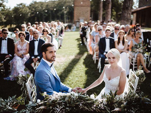 Il matrimonio di Damun e Carmen a Chiusdino, Siena 10