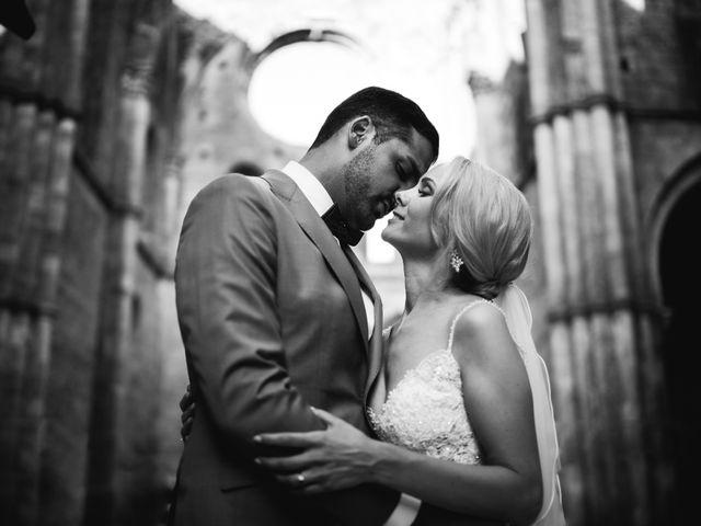 Il matrimonio di Damun e Carmen a Chiusdino, Siena 14