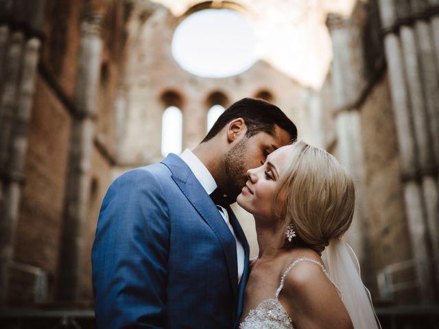 Il matrimonio di Damun e Carmen a Chiusdino, Siena 1