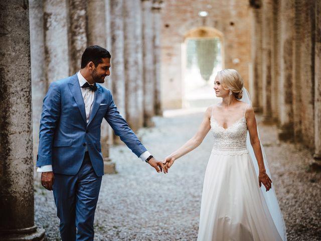 Il matrimonio di Damun e Carmen a Chiusdino, Siena 16