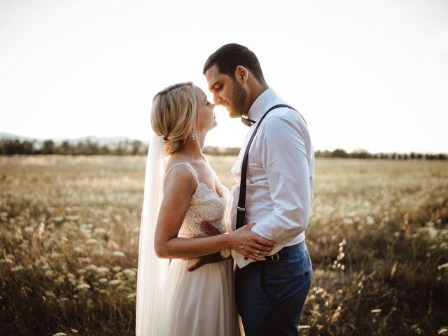 Il matrimonio di Damun e Carmen a Chiusdino, Siena 19