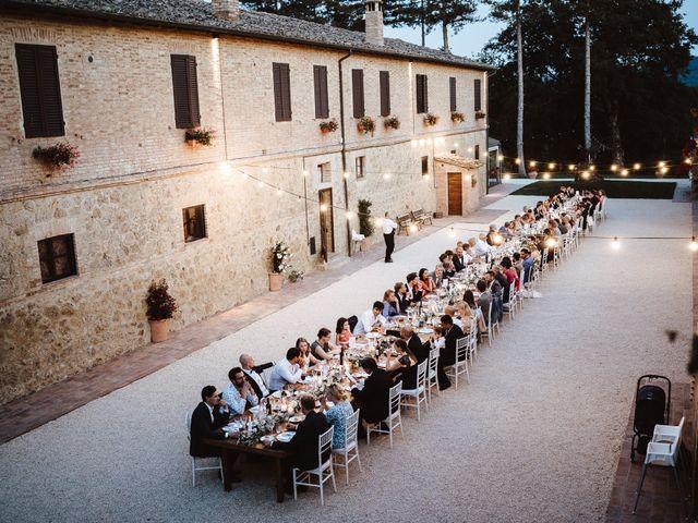 Il matrimonio di Damun e Carmen a Chiusdino, Siena 22