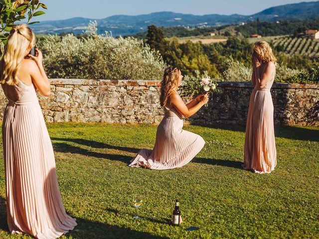 Il matrimonio di Mathias e Elenor a Incisa in Val d'Arno, Firenze 31