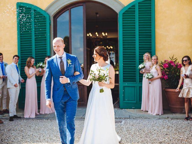 Il matrimonio di Mathias e Elenor a Incisa in Val d'Arno, Firenze 37