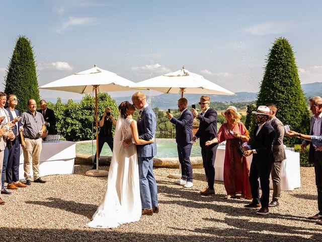 Il matrimonio di Mathias e Elenor a Incisa in Val d'Arno, Firenze 39