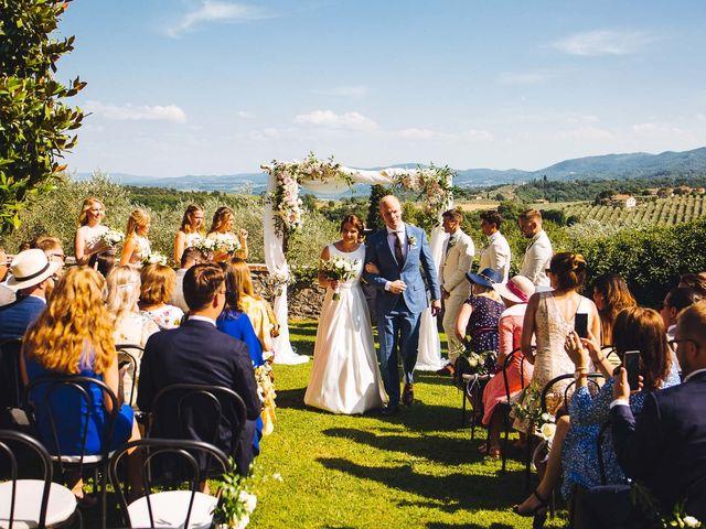 Il matrimonio di Mathias e Elenor a Incisa in Val d'Arno, Firenze 42