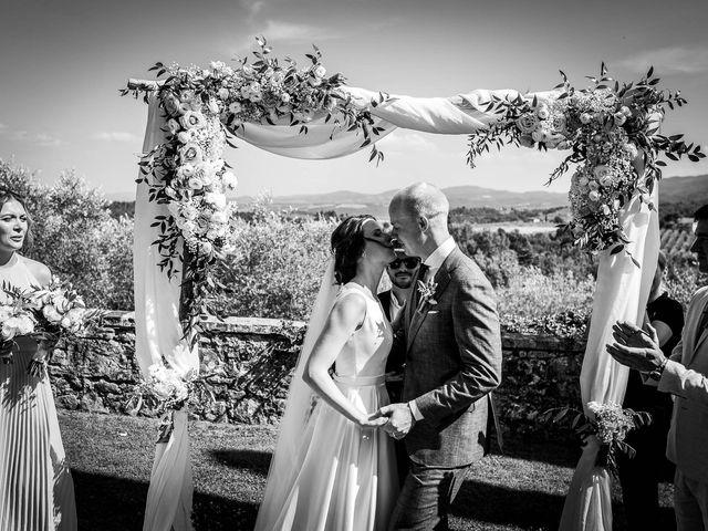 Il matrimonio di Mathias e Elenor a Incisa in Val d'Arno, Firenze 43
