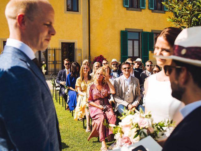 Il matrimonio di Mathias e Elenor a Incisa in Val d'Arno, Firenze 44