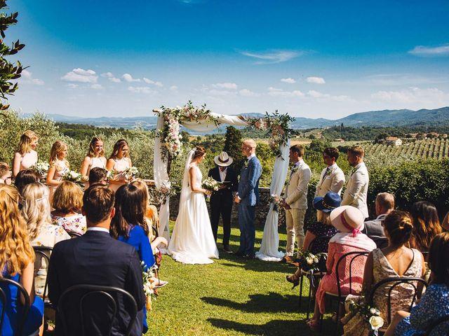 Il matrimonio di Mathias e Elenor a Incisa in Val d'Arno, Firenze 45