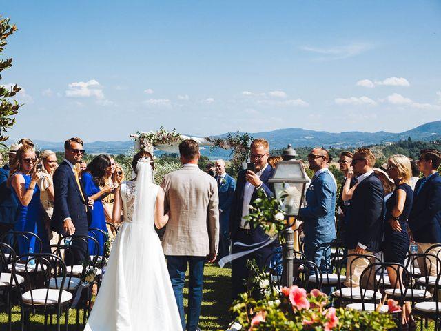 Il matrimonio di Mathias e Elenor a Incisa in Val d'Arno, Firenze 47