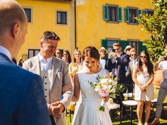 Il matrimonio di Mathias e Elenor a Incisa in Val d'Arno, Firenze 48