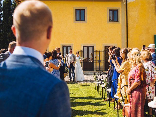 Il matrimonio di Mathias e Elenor a Incisa in Val d'Arno, Firenze 49