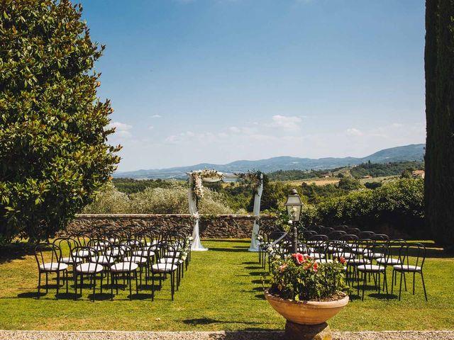 Il matrimonio di Mathias e Elenor a Incisa in Val d'Arno, Firenze 51