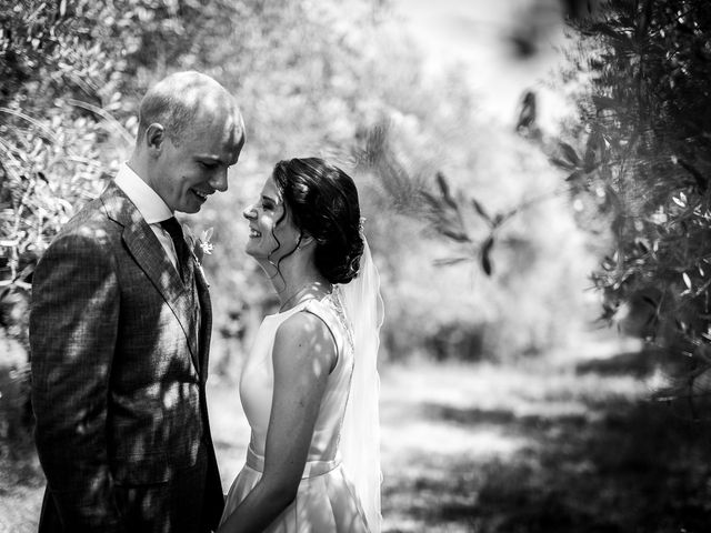 Il matrimonio di Mathias e Elenor a Incisa in Val d'Arno, Firenze 56
