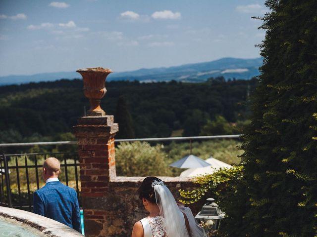 Il matrimonio di Mathias e Elenor a Incisa in Val d'Arno, Firenze 61
